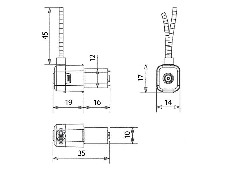 Peristaltic-Pump-MP-1-Drawing-View1